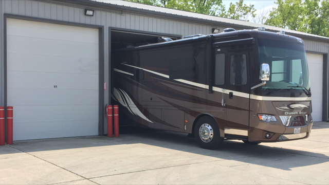 RV storage facility